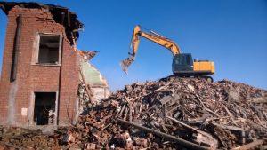 демонтаж кирпичных зданий цена в твери