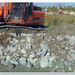 бой бетона для подсыпки дорог цена